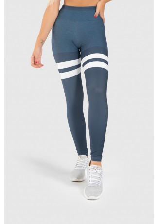 Calça Legging Fitness Estampa Digital United Lines | Ref: GO402