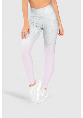 Calça Legging Fitness Estampa Digital Pinking Mix | Ref: GO195