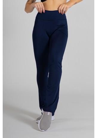 Calça Legging Bailarina Cores Lisas (Azul Marinho) | Ref: KS-F145-008