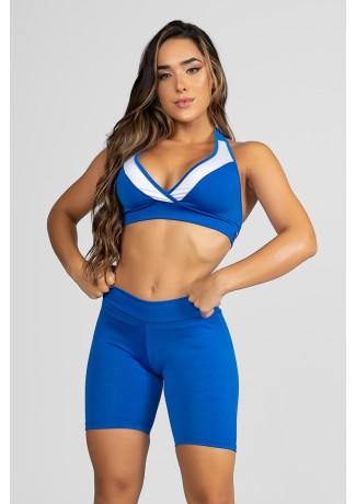 Top  (Azul Royal / Branco) | Ref: F20-013