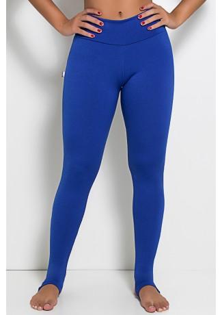 Legging Lisa com Pezinho (Azul Royal)   Ref:F216-003