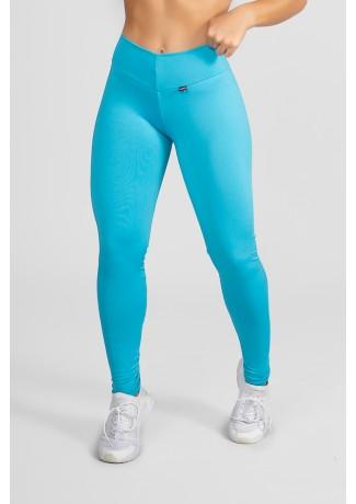 Calça Amanda com Cós em V (Azul Celeste) | Ref:F712-002