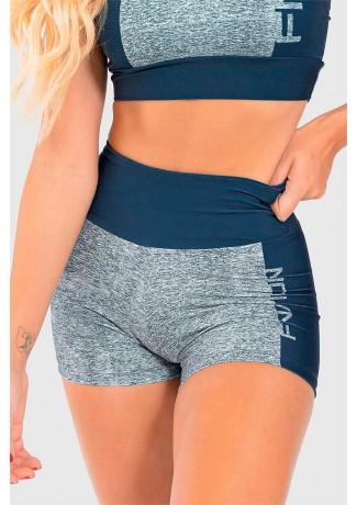 Short Fitness Estampa Digital Double Merge | Ref: GO198