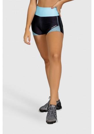 Short Fitness Estampa Digital Blue Points | Ref: GO278