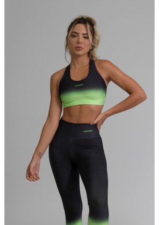 Top Nadador Fitness com Viés Estampa Digital Neon Transition | Ref: GO393