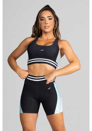 Top Nadador Fitness Estampa Digital White Stripes | Ref: GO183