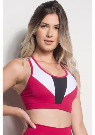 Top Nadador 3 Cores (Rosa Pink / Branco / Preto)   Ref: TPP249-006/002/001