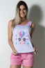 Babydoll Feminino 052 (Rosa) | Ref: CEZ-PA052-006