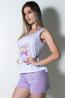 Babydoll Feminino 052 (Lilás) | Ref: CEZ-PA052-007